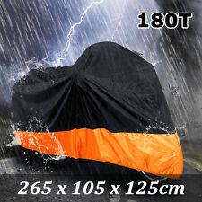 XXL Waterproof Motorcycle Cover For Harley Davidson XL Sportster 1200 Custom AM