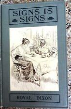 1st BLACK AMERICANA BLACK MAMMY NEGRO DIALECT 1906 SOUTHERN LIT SIGNS IS SIGNS