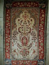 Hereke Seidenteppich Teppich Seide auf Seide  Turkish Hereke Silk Rug tappeto