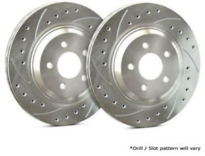 SP Performance Rear Rotors for 2007 CX-9  | Drilled & Slotted w/ Zinc F26-480-P