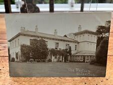 More details for 1911 photo type postcard. the rectory silverton  ( a haley photographer )