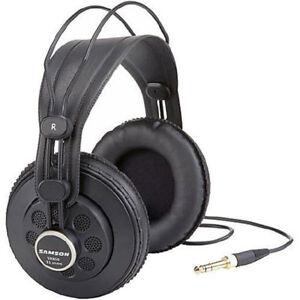 NEW Samson SR850 Professional Studio Reference Headphones