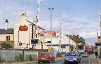 PHOTO  COALVILLE TOWN RAILWAY STATION LEICESTERSHIRE 1988 MR LEICESTER - BURTON-