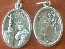 Lightweight St. Rita (of Cascia) Medal + Abuse victims, difficult marriages