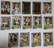 2018 AFL TEAMCOACH GEELONG CATS 14 ASSORTED TRADING CARDS
