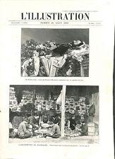 Insurrection en Macédoine Rostkowsky consul de Russie à monastir GRAVURE 1903