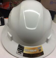 White Safety hard hat (cool Air Flow)