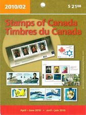 Stamps of Canada April to June 2010 Sealed Packet