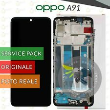 DISPLAY LCD OLED OPPO A91 CPH2021 SCHERMO FRAME ORIGINALE SERVICE PACK TOUCH