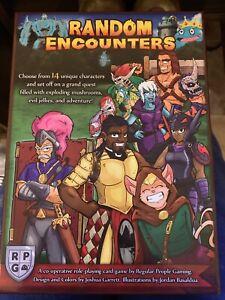 RPG Random Encounter game 2016