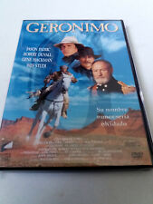 "DVD ""GERONIMO"" COMO NUEVO WALTER HILL JASON PATRIC ROBERT DUVALL GENE HACKMAN WE"