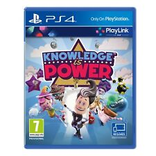 Sony Ps4 Knowledge Is Power Video Game