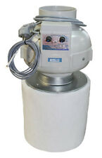 Prima Klima PK125-TC  Kombo-Kit Rohrventilator temperaturgesteuert 400 m³/h +AKF