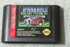 Jeopardy Sports Edition SEGA MEGADRIVE/GENESIS/NOMAD