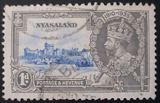1935: NYASALAND: GEORGE V SILVER JUBILEE: USED STAMP: NOT HINGED