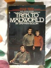Star Trek PB. Trek to Madworld : A Star Trek Novel by Stephen Goldin