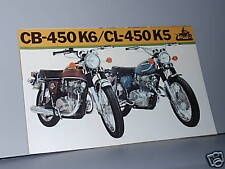 1973 Honda CB450 K6 / CL450 K5 Motorcycle Sales Brochure / Literature