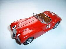 Alfa Romeo 6C 2500 SS GP Brescia MM 1940 Farina Mambelli #84 Handarbeit FDS 1:43