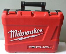 "BRAND NEW MILWAUKEE M12 FUEL HIGH IMPACT CASE FOR 2403-22  1/2"" DRILL DRIVER"