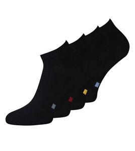 Sneaker Socken Schwarz Füßlinge mit Sortierpunkt Unisex 8 Paar KB Socken®