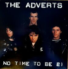 The Adverts - No Time To Be 21. Near Mint Vinyl Single 1978.