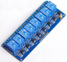 8 Channel Kanal 5V Relais Relay Module Modul für Arduino DSP AVR N Deutsche Post