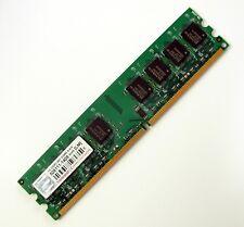 Barrette RAM 1 GO (1 GB) TRANSCEND DDR2 667 Mhz 1,8 V desktop PC / PC de bureau