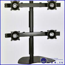 CHKTP440B - CHIEF Quad Monitor Table Stand (Black)