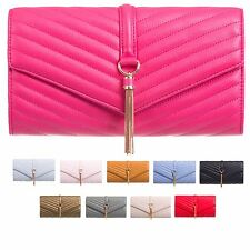 Quilted Evening Bags with Magnetic Snap Handbags