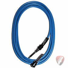 George L's .225 10 Foot Pre-Made Instrument Cable in Blue