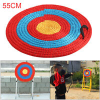 Outdoor Sports Archery Shooting Bow Straw Arrow Target Single Layer NEW