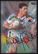 1995 NRL WINFIELD CUP TRIBUTE SIGNED TRADING CARD - #3 SEAN HOPPE WARRIORS