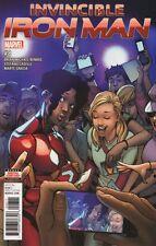 Invincible Iron Man #8 Bande Dessinée 2017 - Marvel