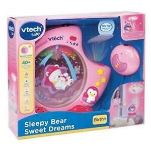 Sleepy Bear Sweat Dreams Vtech Baby Pink Brand new in box
