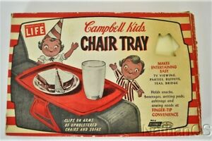 Vintage CAMPBELL KIDS CHAIR TRAY In Box