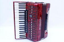 VERY NICE 120 BASS PIANO ACCORDION WELTMEISTER METEOR
