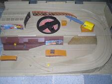 Freight Yard Sto & Go Hot Wheels 1983 Truck Train Playset