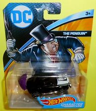 New Hot Wheels DC Universe Batman THE PENGUIN Character Car 1:64 -Ships Free