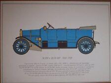 STAMPA 24 HP e 20/30 HP 1910-1920 ALFA ROMEO  ANNI 60 (M14- 12 )