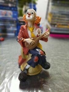 Claudio Vivian Formano Clown Figur Mandoline Instrument Italien