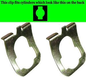 2 Pack - GMC GM Door Lock Pawl Retainer Clip 322601 GM OEM #02852074