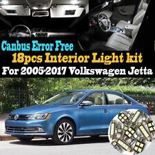 18Pc 05-17 VW Jetta Canbus Error Free Super White Car Interior LED Light Pack