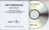 AMY WINEHOUSE Remix Promo 1 UK 3-track promo only CD Rehab Love Is A Losing Game