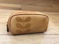 Orla Kiely Cosmetic Bag Brush Holder Glasses Case Pouch RARE