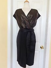 NARCISO RODRIGUEZ DESIGN NATION black sequin dress size XL new $84