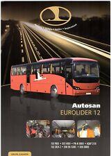 Autosan Eurolider 12 Intercity Bus 2010-11 Polish Market Single Sheet Brochure