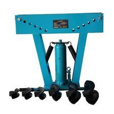 "KATSU 12 Ton hydraulic pipe bender 1/2"" - 2"" 6 Die Free P&P"