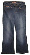 l.e.i. sz Medium Juniors Short Womens Blue Jeans Denim Pants Stretch EU59