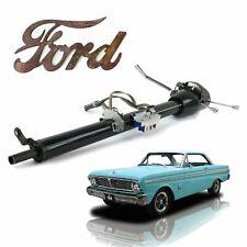 """Keyed Black Tilt Steering Column 33"""" Fits 1960-1970 Ford Falcon 302 Cougar v8"""