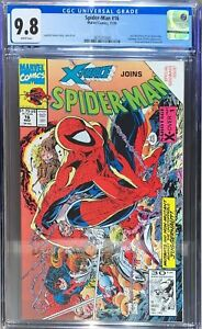Spider-Man #16 CGC 9.8 1991 Marvel Comics Last McFarlane Art on Spider-Man Copy5